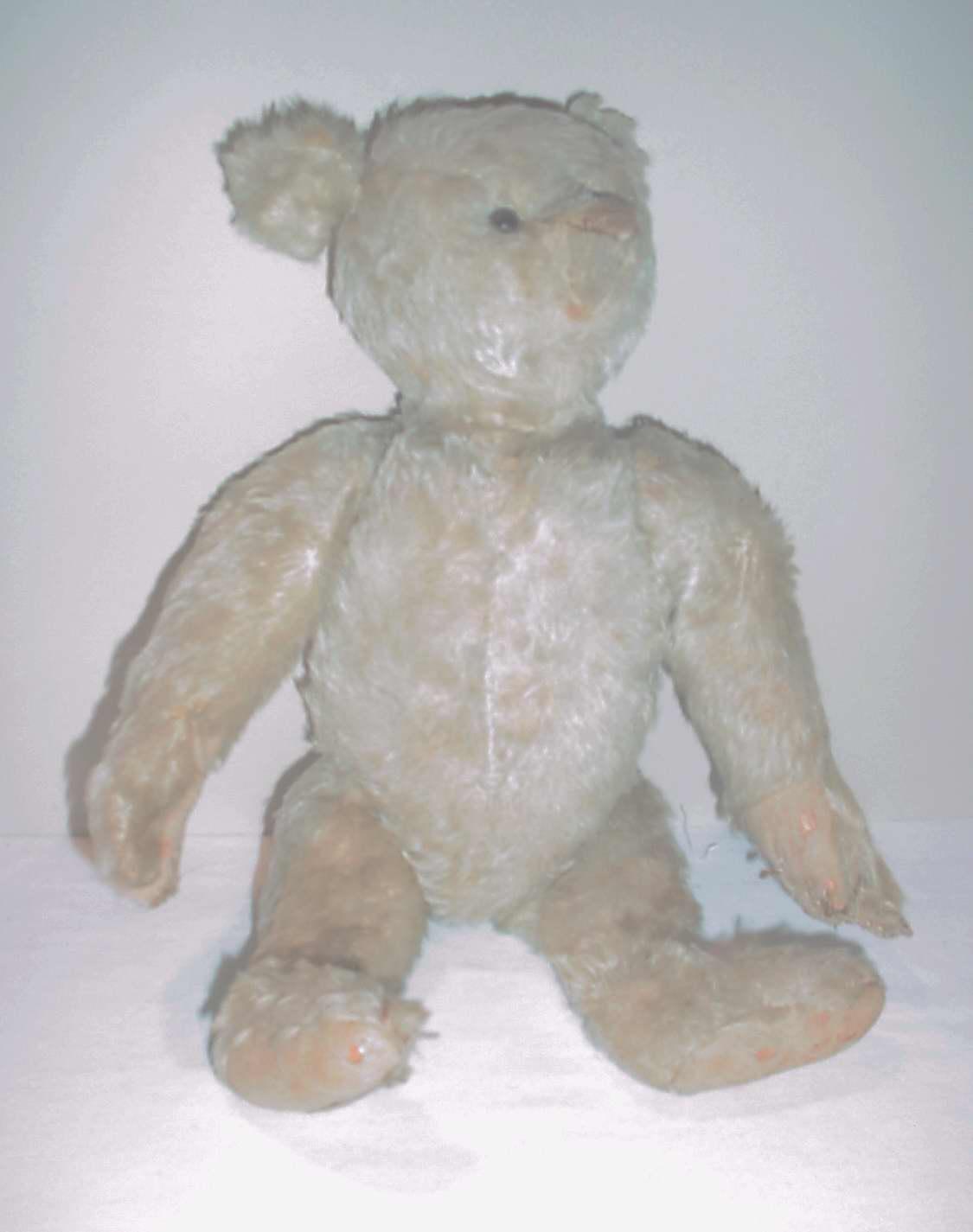 "High Plains Museum | T002 Teddy bear that belong to H.G. ""Jack"" Kempton"