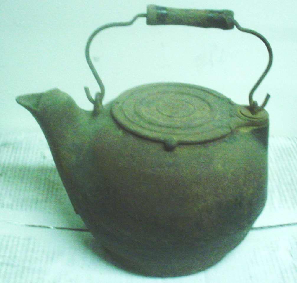 High Plains Museum | HHG102 Iron teakettle