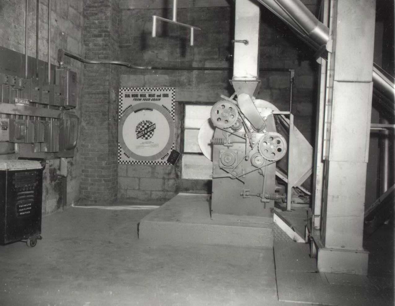 High Plains Museum | PM333MISC 1957, inside Kanorado Co-op elevator