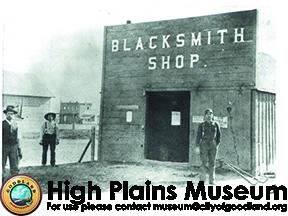High Plains Museum | PM336BUILD William Rowe's blacksmith shop