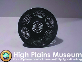 High Plains Museum | E025 Granite Ware Colander