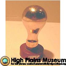 High Plains Museum | BM316 Logan township seal, Sherman County KS