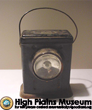 High Plains Museum | R950 Lantern used by freight conductor