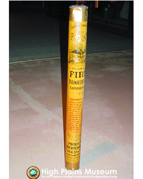 High Plains Museum   BM017 Fire extinguisher from 1899