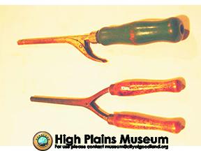High Plains Museum | MC004 Marcel wave curling iron & handle