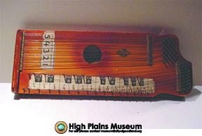 High Plains Museum | MI013 Pianoette Zither