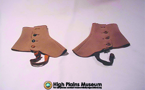 High Plains Museum | A043 Beige Spats