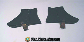 High Plains Museum | QC004 Brown Spats