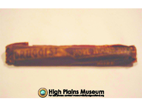 High Plains Museum | A197 Horehound Candy
